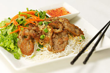 Grilled Pork Vermicelli/Bun Heo
